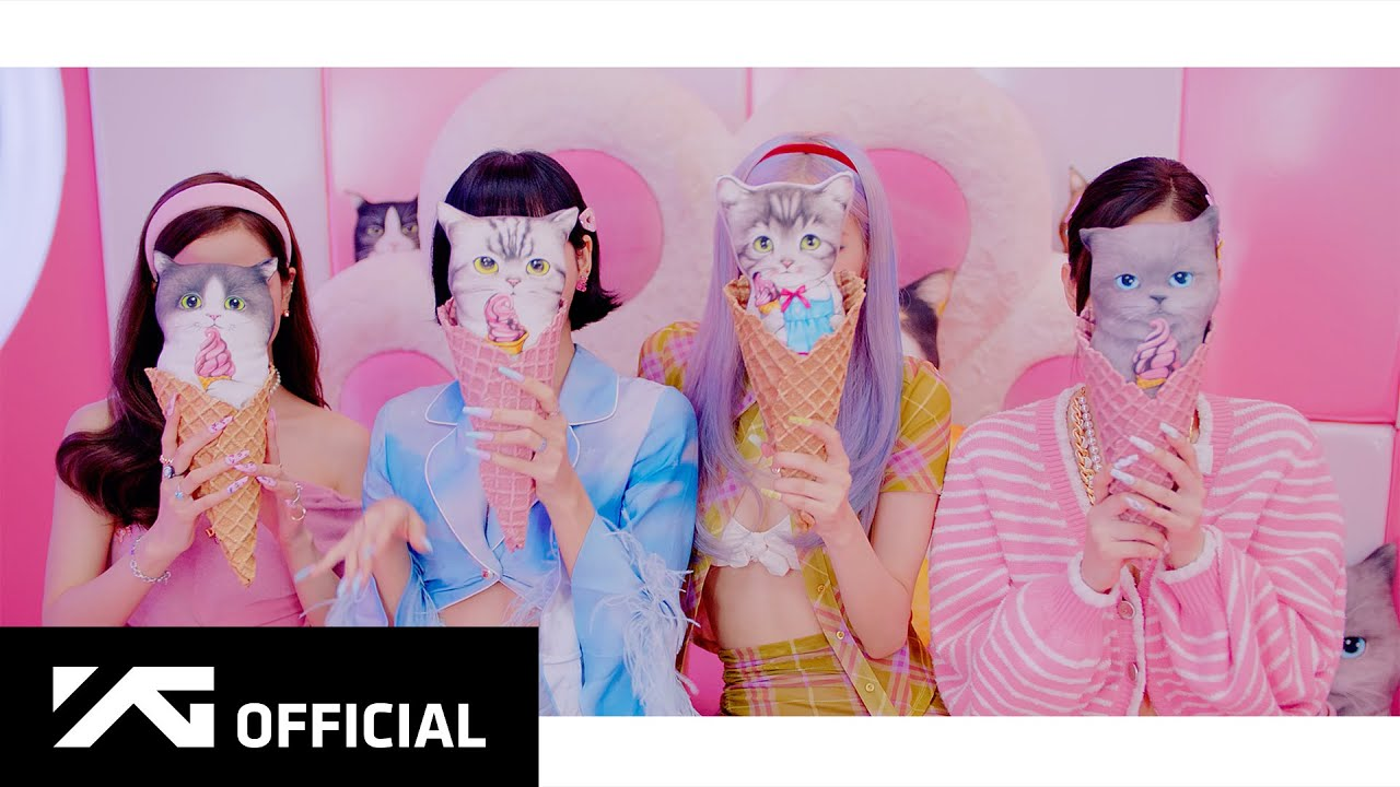 BLACKPINK and Selena Gomez Drop MV for their Collab Single 'Ice Cream'