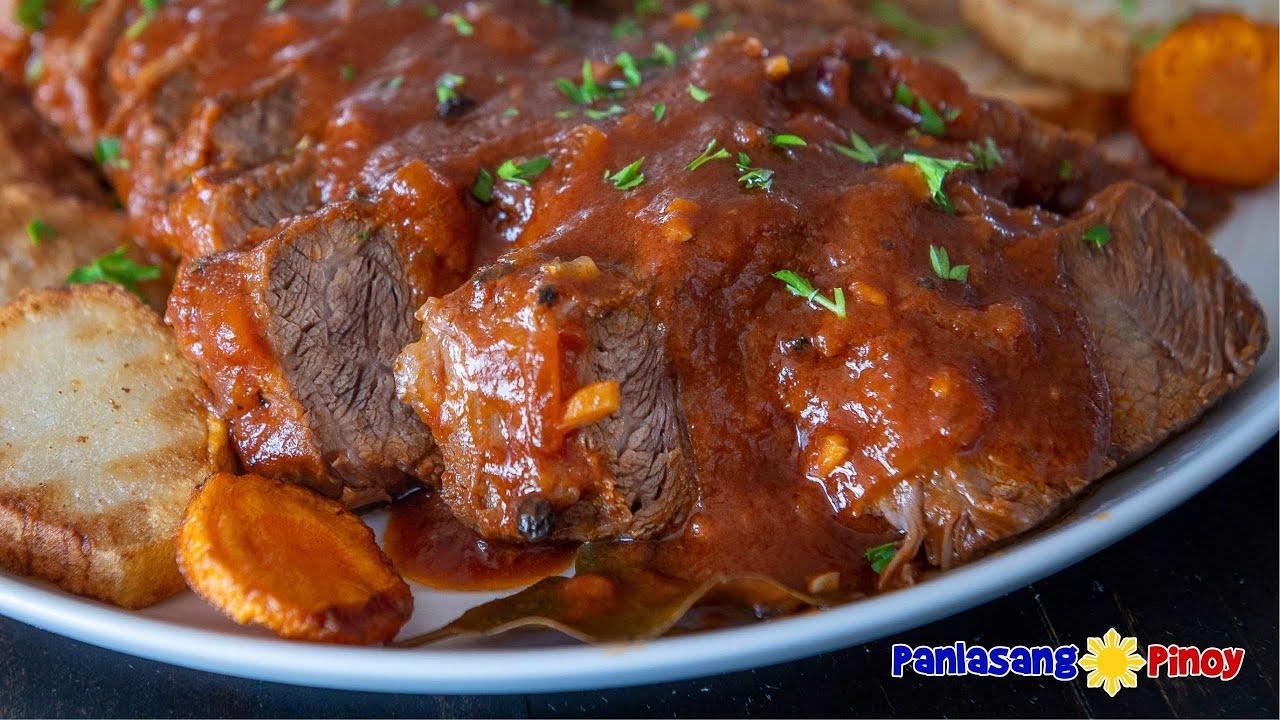 Masarap at Malinamnam na Asadong Baka | Easy Beef Stew Recipe