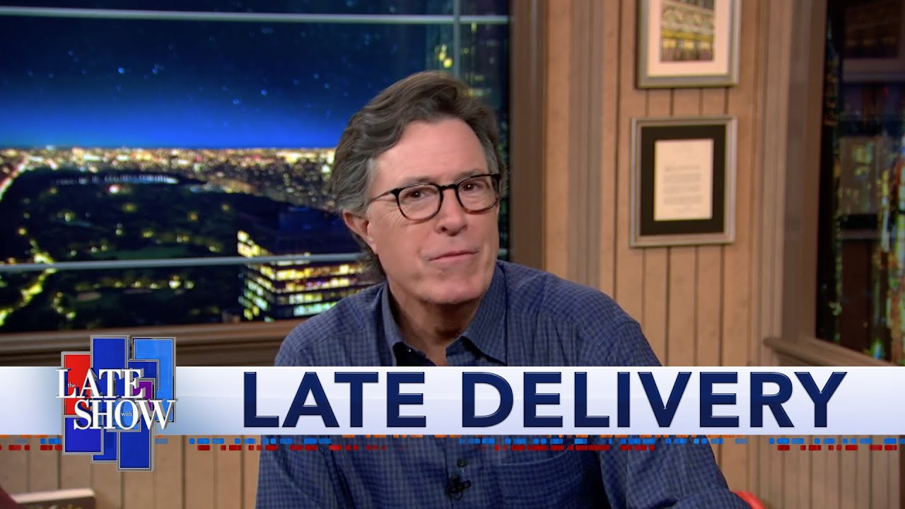 Stephen Colbert calls on Congress to protect the Postal Service from Trump
