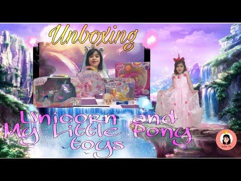 Unboxing Unicorn and My Little Pony Toys