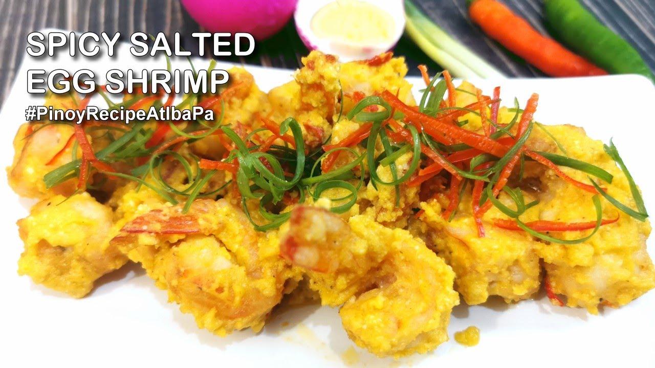 Salted Egg Shrimp Recipe