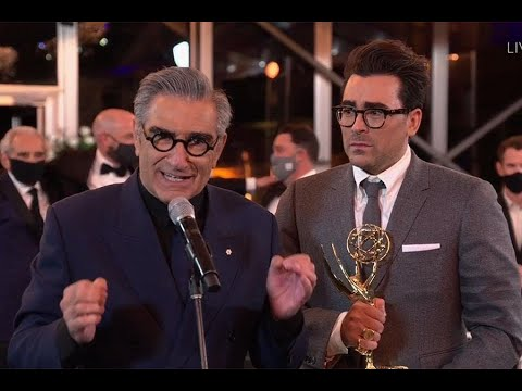 Schitt's Creek Made History With Its Emmy Wins Last Night