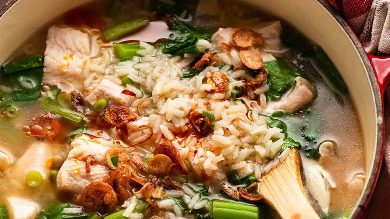 Chinese Rice Soup – quick and easy