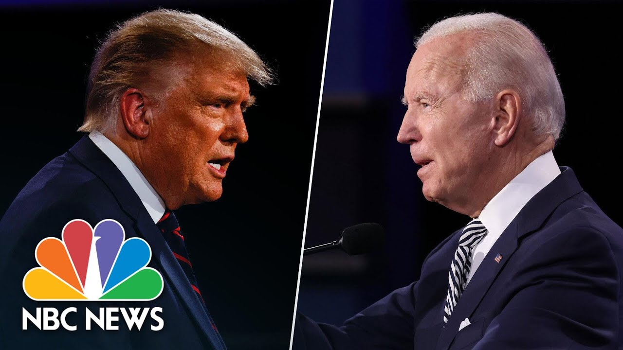 Fascist Donald Trump terrorizes Joe Biden, Chris Wallace & America in first debate
