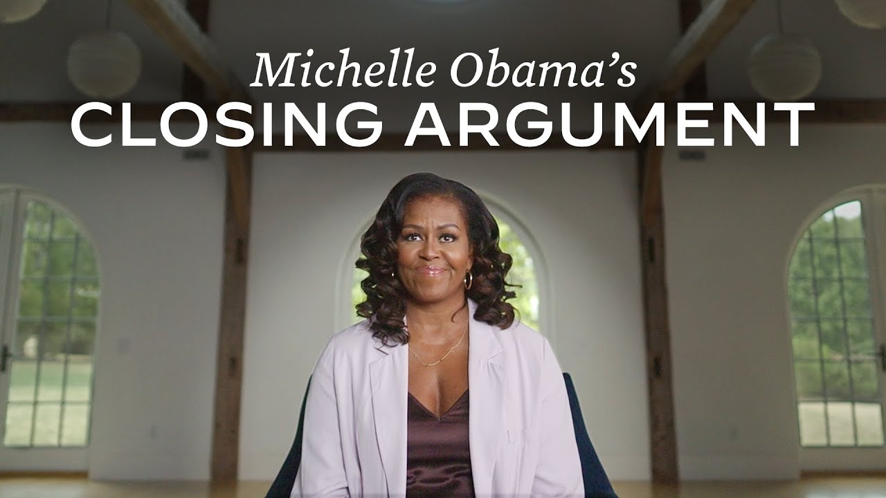 Michelle Obama makes powerful and candid closing argument for Joe Biden