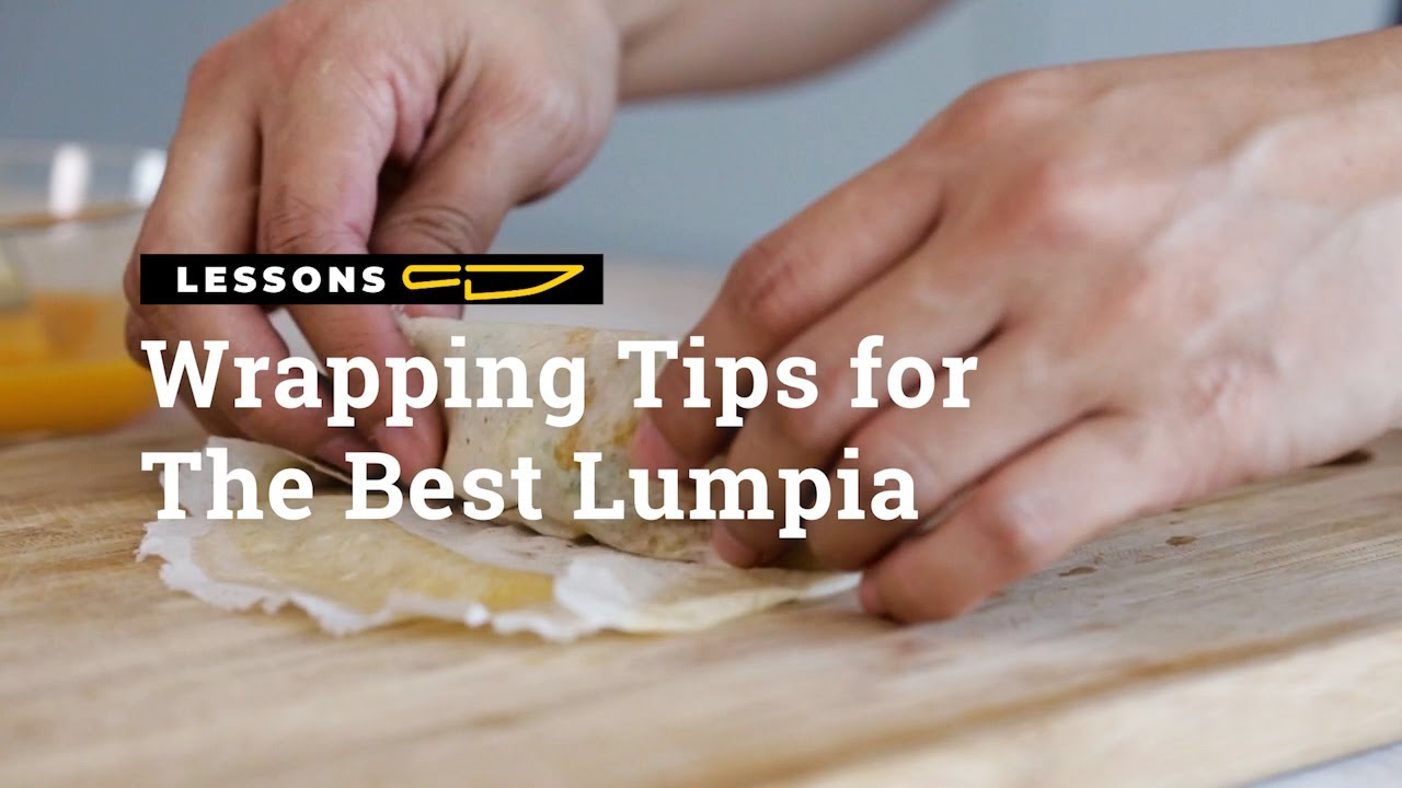WATCH: Wrapping Tips For The Best Lumpia