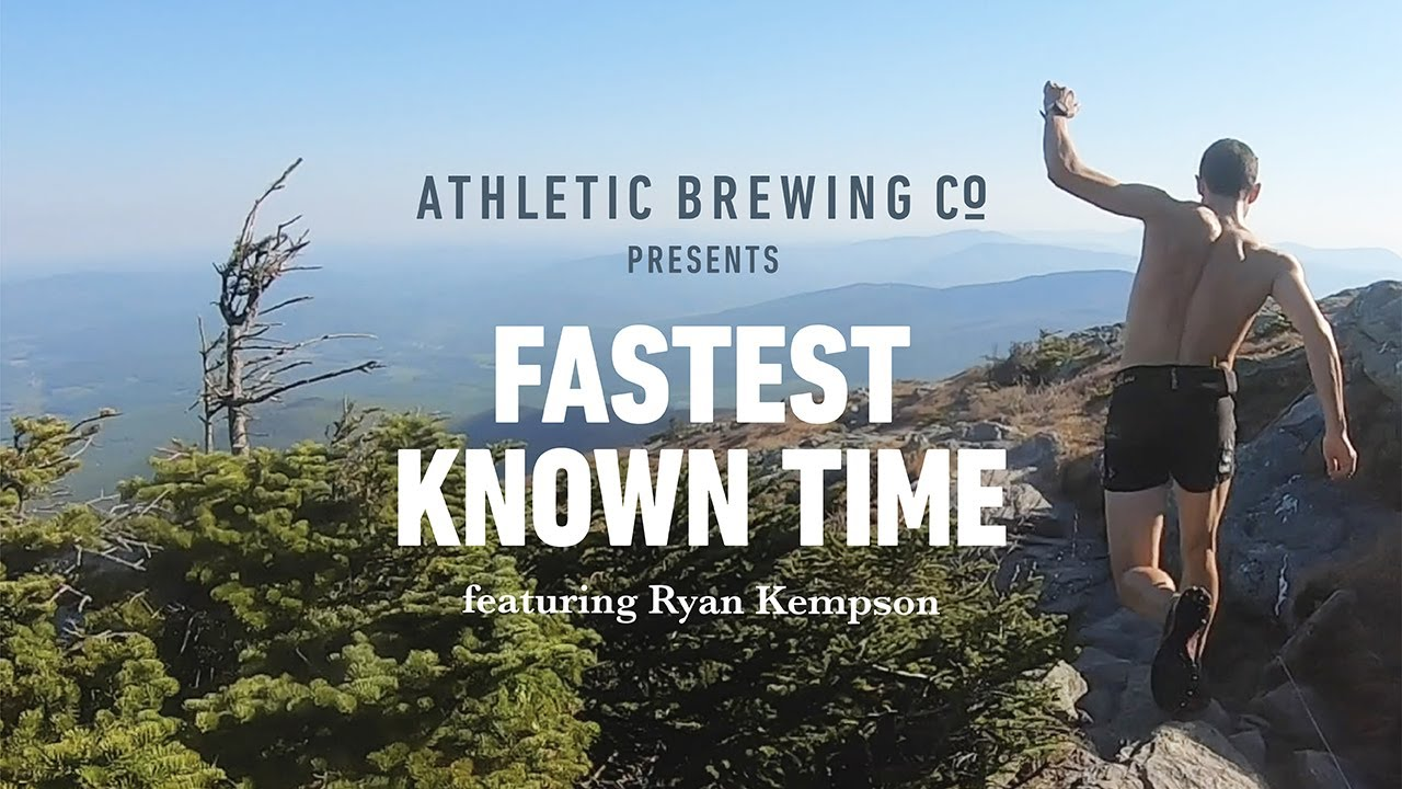 "Why Endurance Athletes Like Ryan Kempson are Obsessed with ""Fastest Known Time"""